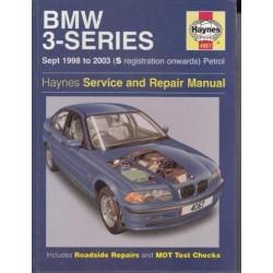 BMW 3-Series Petrol Service and Repair Manual: 1998 to 2003