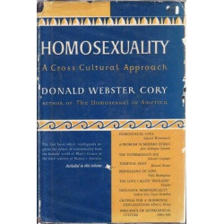 Homosexuality: A Cross Cultural Approach