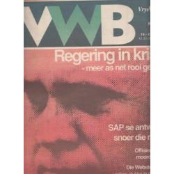 Vrye Weekblad No. 174 15 - 21 Mei 1992