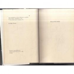 Malone Dies (First British Edition)