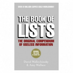 The Book of Lists : The Original Compendium of Useless Information