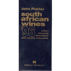 John Platter's New South African Wine Guide 1996
