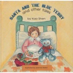 Santa and the Blue Teddy...